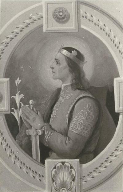 Jászárokszállási templom freskójának fotódokumentációja (13.)
