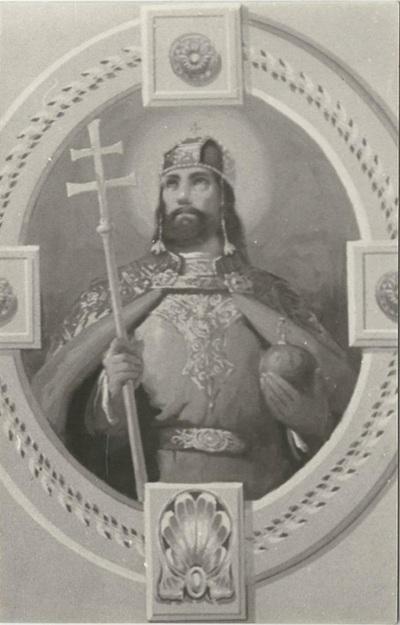 Jászárokszállási templom freskójának fotódokumentációja (14.)