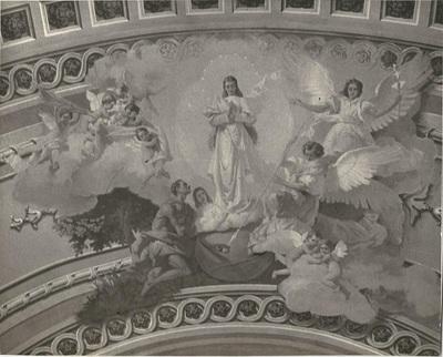 Soroksári templom freskójának fotódokumentációja (12.)