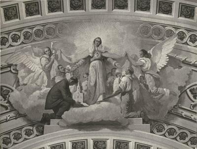 Soroksári templom freskójának fotódokumentációja (13.)