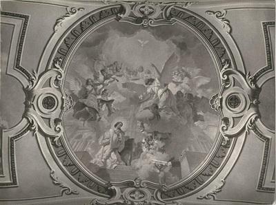 Soroksári templom freskójának fotódokumentációja (14.)