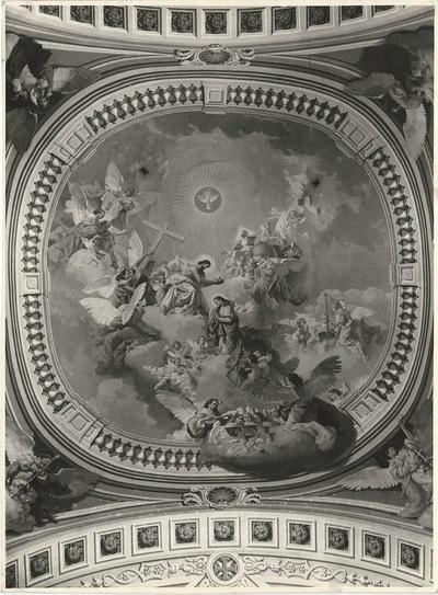 Soroksári templom freskójának fotódokumentációja (15.)