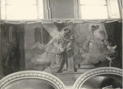 Soroksári templom freskójának fotódokumentációja (16.)