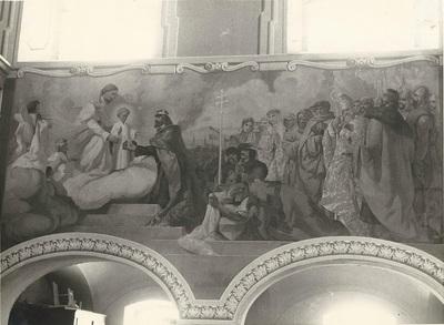 Soroksári templom freskójának fotódokumentációja (17.)