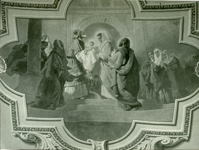 Soroksári templom freskójának fotódokumentációja (18.)