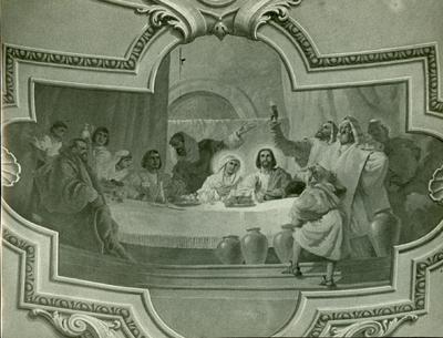 Soroksári templom freskójának fotódokumentációja (19.)