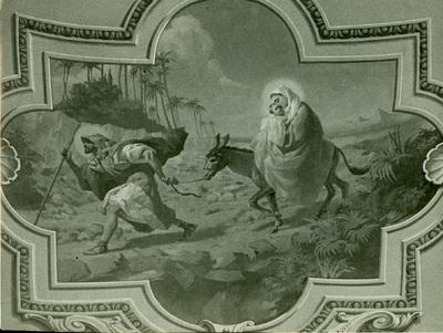 Soroksári templom freskójának fotódokumentációja (20.)