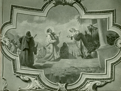 Soroksári templom freskójának fotódokumentációja (21.)