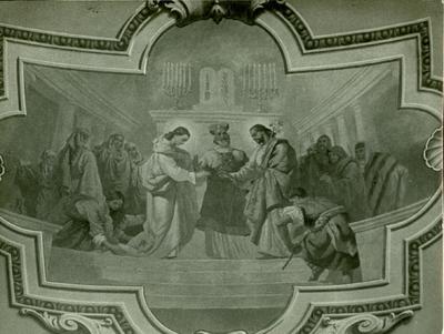 Soroksári templom freskójának fotódokumentációja (22.)
