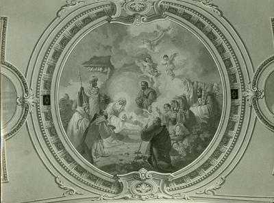 Soroksári templom freskójának fotódokumentációja (23.)