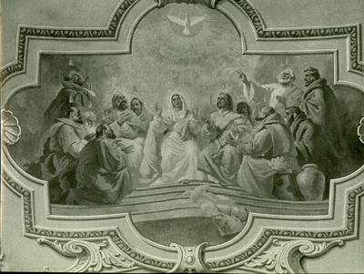 Soroksári templom freskójának fotódokumentációja (24.)