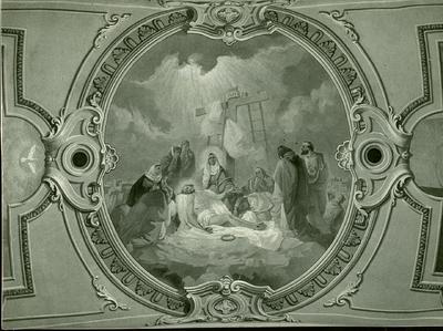 Soroksári templom freskójának fotódokumentációja (25.)