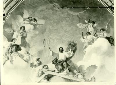 Monoki templom freskójának fotódokumentációja (1.)