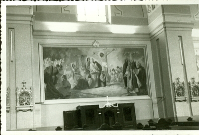 A keceli templom freskójának fotódokumentációja (3.)