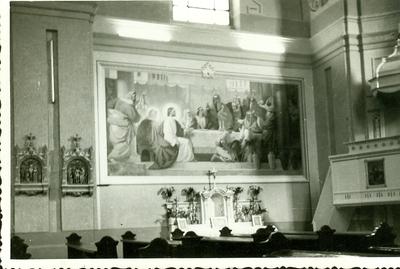A keceli templom freskójának fotódokumentációja (4.)