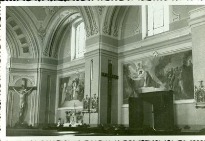 A keceli templom freskójának fotódokumentációja (7.)