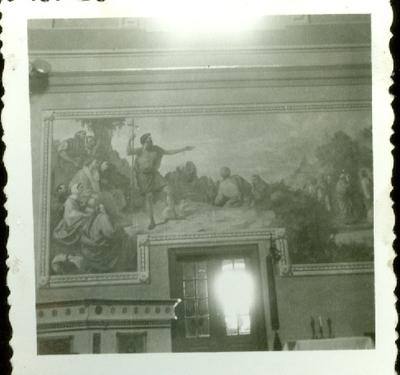 A keceli templom freskójának fotódokumentációja (8.)