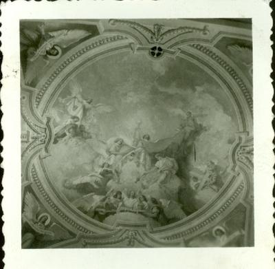 A keceli templom freskójának fotódokumentációja (9.)