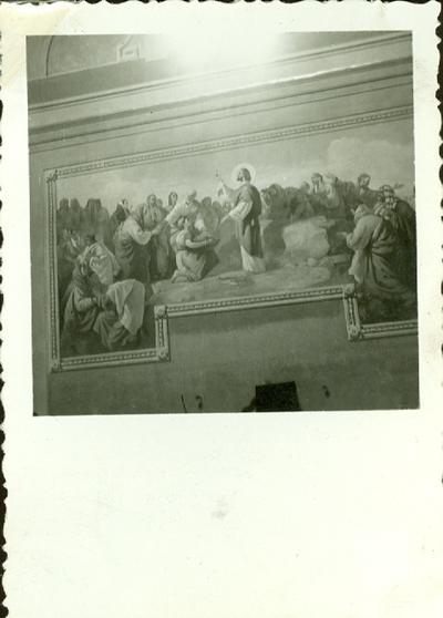 A keceli templom freskójának fotódokumentációja (10.)