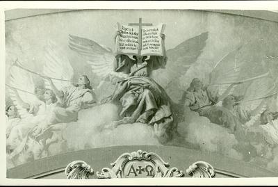 A csömöri templom freskójának fotódokumentációja (1.)