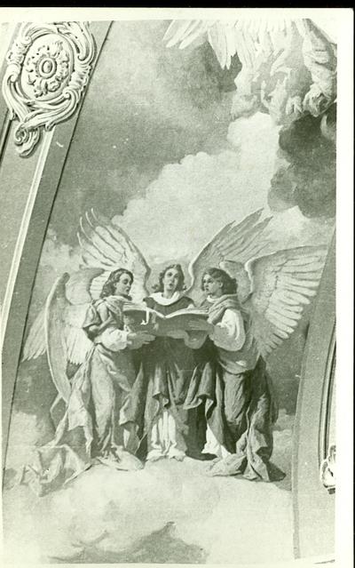 A csömöri templom freskójának fotódokumentációja (3.)