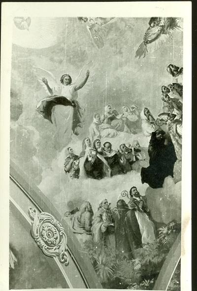 A csömöri templom freskójának fotódokumentációja (4.)