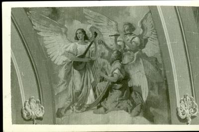 A csömöri templom freskójának fotódokumentációja (5.)