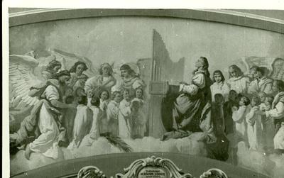 A csömöri templom freskójának fotódokumentációja (6.)