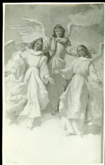 A csömöri templom freskójának fotódokumentációja (7.)