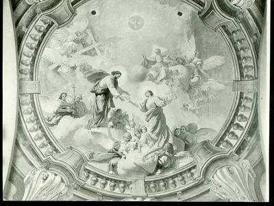 A csömöri templom freskójának fotódokumentációja (8a)