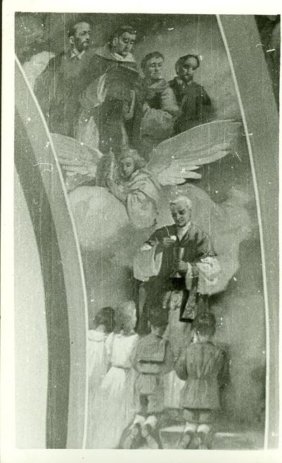 A csömöri templom freskójának fotódokumentációja (9.)