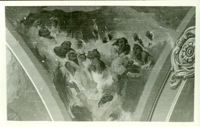 A csömöri templom freskójának fotódokumentációja (10.)