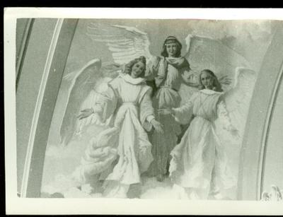 A csömöri templom freskójának fotódokumentációja (13.)
