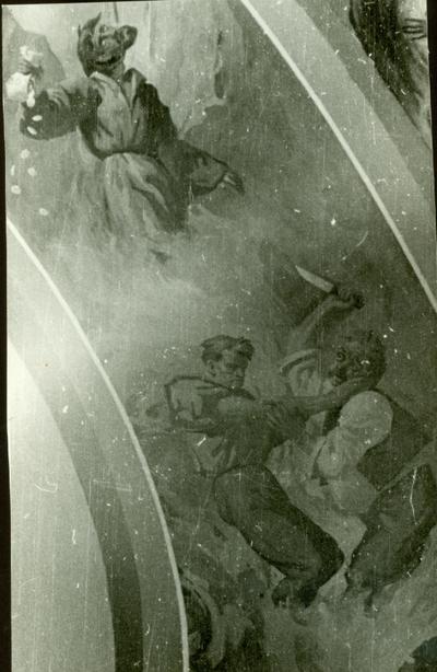 A csömöri templom freskójának fotódokumentációja (14.)