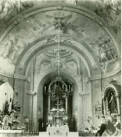 A csömöri templom freskójának fotódokumentációja (15.)