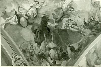 A csömöri templom freskójának fotódokumentációja (16.)