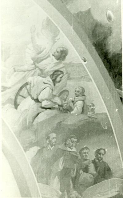 A csömöri templom freskójának fotódokumentációja (18.)