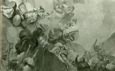 A csömöri templom freskójának fotódokumentációja (19.)