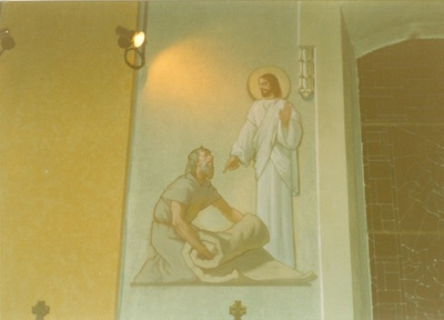 Az alsótelekesi templom freskójának fotódokumentációja (1.)