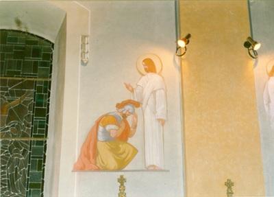 Az alsótelekesi templom freskójának fotódokumentációja (2.)