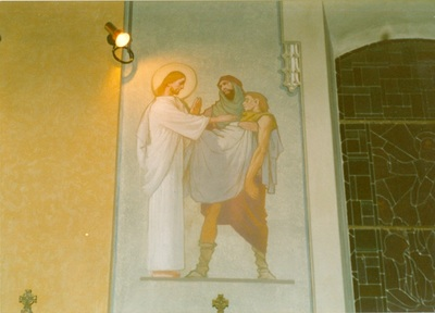 Az alsótelekesi templom freskójának fotódokumentációja (3.)