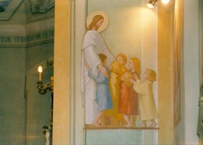 Az alsótelekesi templom freskójának fotódokumentációja (5.)