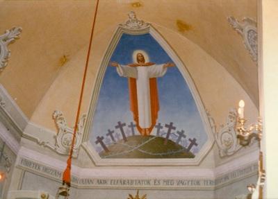 Az alsótelekesi templom freskójának fotódokumentációja (6.)