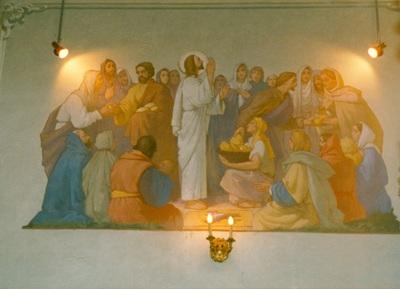 Az alsótelekesi templom freskójának fotódokumentációja (8.)