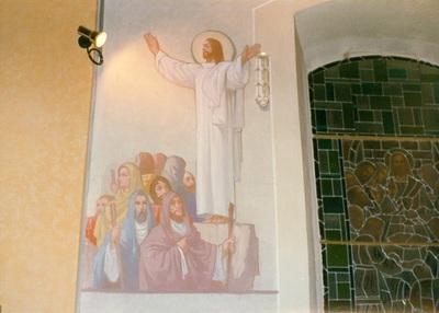 Az alsótelekesi templom freskójának fotódokumentációja (10.)