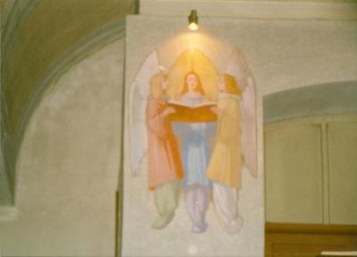 Az alsótelekesi templom freskójának fotódokumentációja (11.)