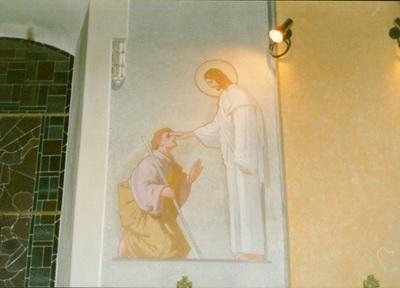 Az alsótelekesi templom freskójának fotódokumentációja (13.)