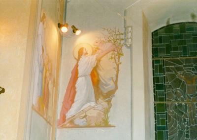 Az alsótelekesi templom freskójának fotódokumentációja (16.)