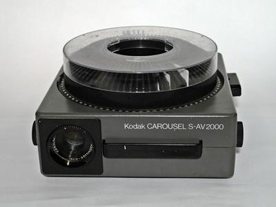 Kodak Carousel S-AV 2000 diavetítő