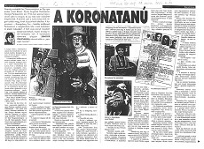 A koronatanú - újságcikk